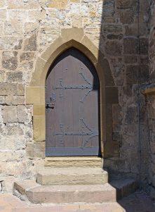 Zugang zum Kirchturm