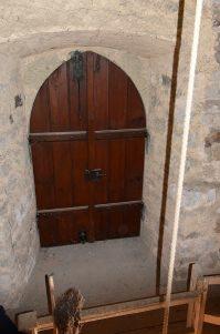 Zugang vom Turm zur Empore