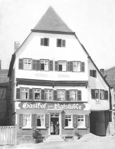 Ratstüble 1927
