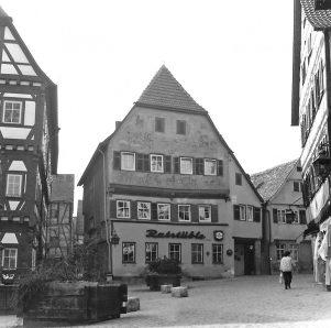 Ostfassade des Ratstübles 1986