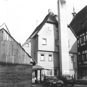 Westfassade des Ratstübles