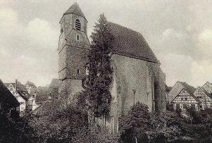 Spitalkirche von Süden