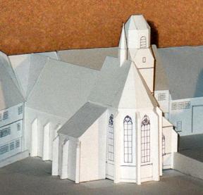 Modell HGS Kirche
