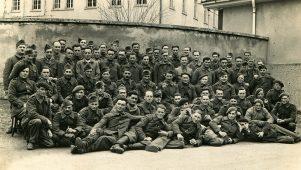 Franz. Kriegsgefangene im April 1941