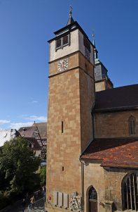 Glockenturm der Bartholomäuskirche