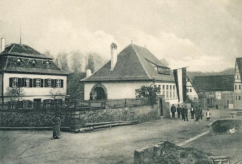 Pöllnitzsches Schlössle und Schule