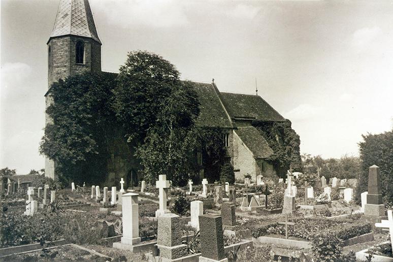 Frauenkirche um 1959