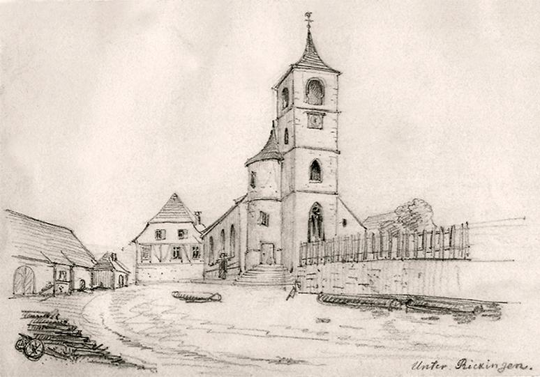 Dorfkirche 1865