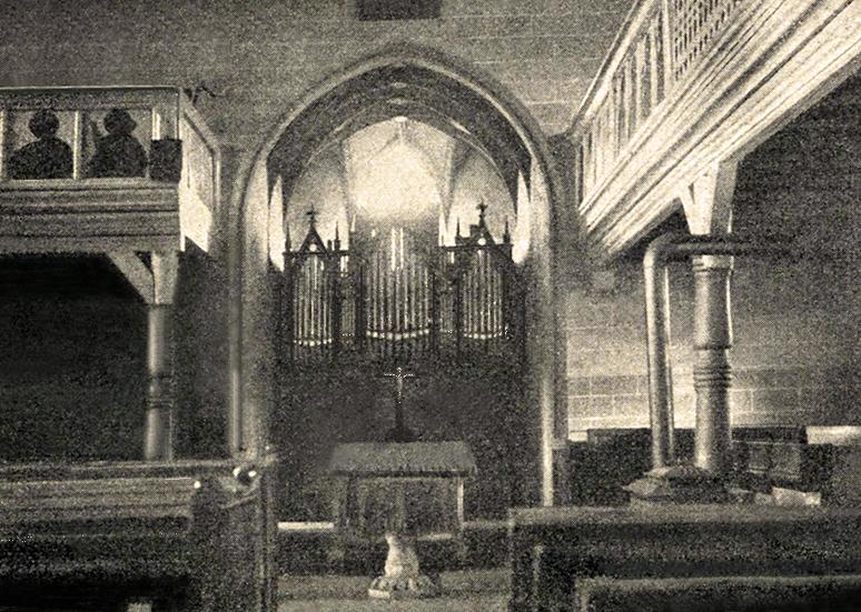 Dorfkirche vor 1906