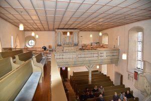 Kirchenraum von Südosten