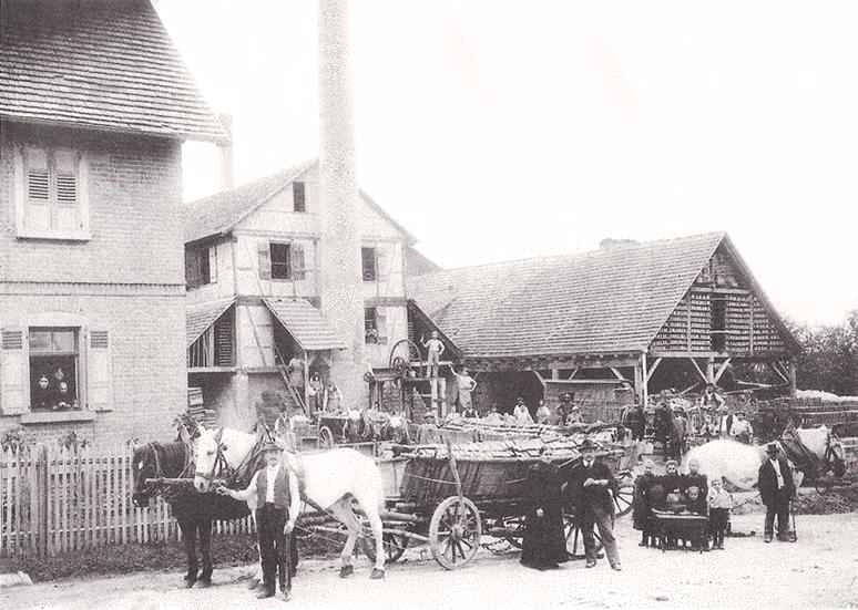Ziegelei um 1910