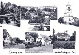 Unterriexingen um 1950