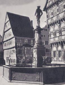 Marktbrunnen 1951