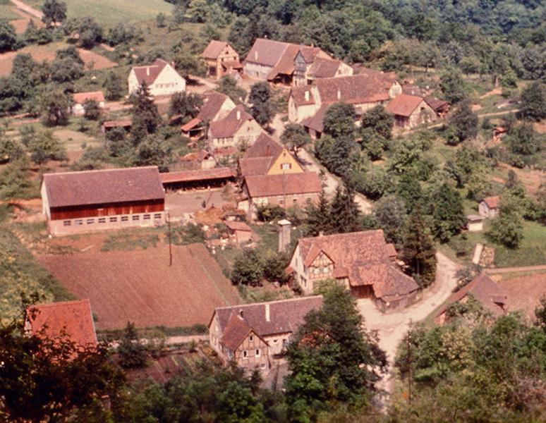 Talhausen um 1960