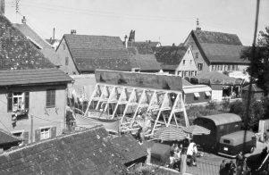 Rummelplatz um 1960