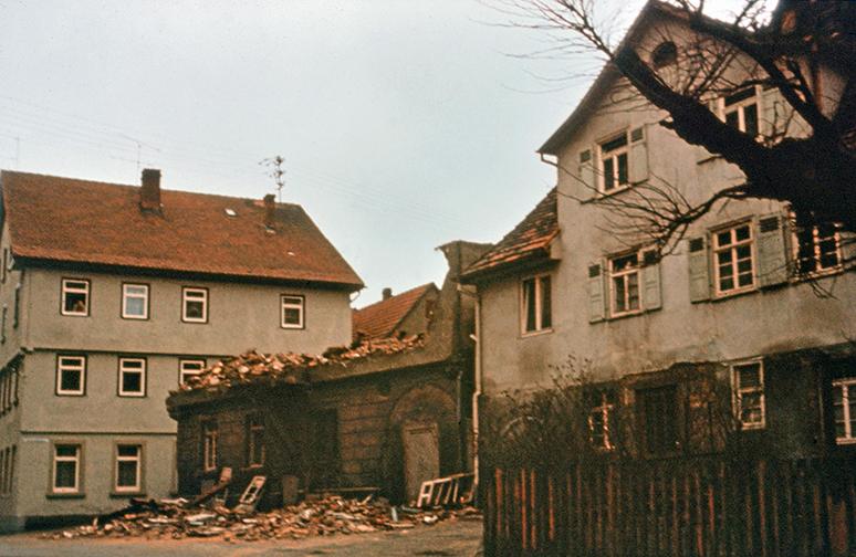 Kirchplatz Abriss