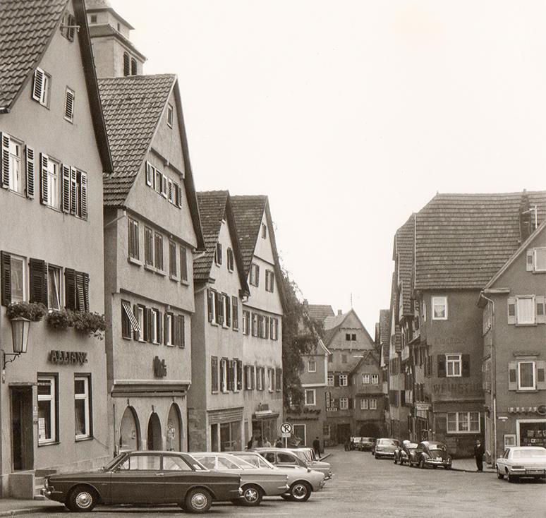Marktplatz und Kirchgasse