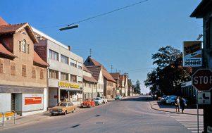 Bahnhofstraße um 1972
