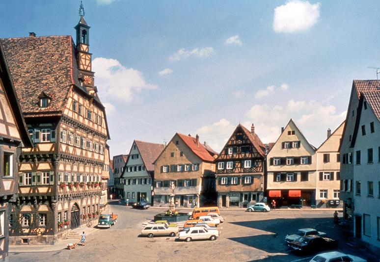 Marktplatz um 1975