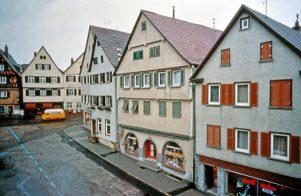 Marktplatz-Ostflanke um 1976