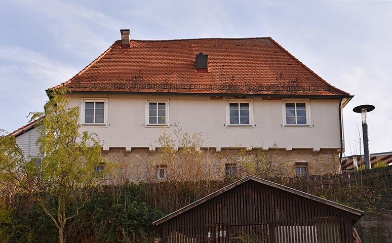 Schießhaus von Westen