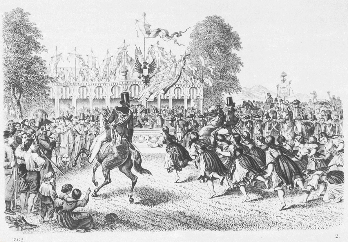 Stahlstich von 1862