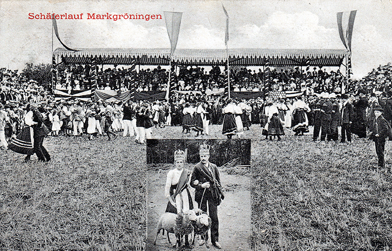 1910 Schäferlauf