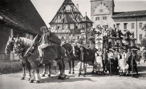 Festwagen der Bauern 1935