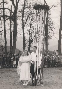 Mai-Königspaar 1937