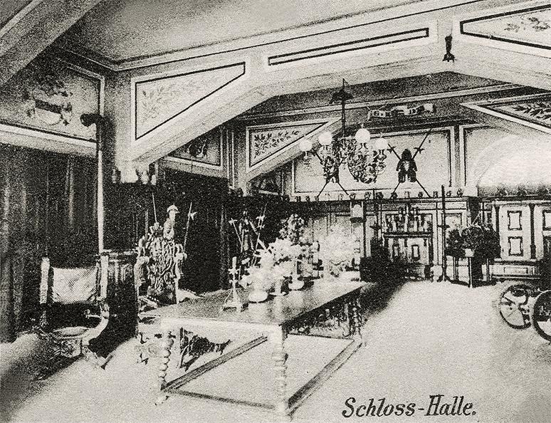 Schlosshalle 1911