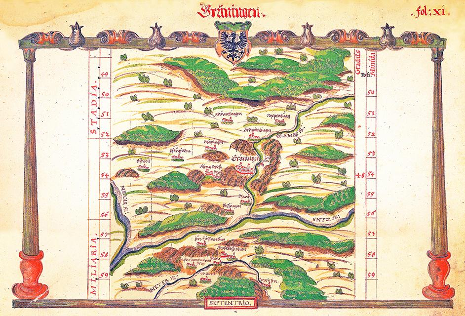 Amt Grüningen 1575