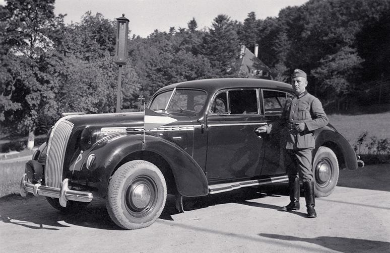 Opel Admiral mit Karl Näher