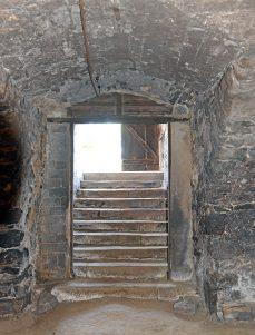 Kellerabgang Dorfkirche