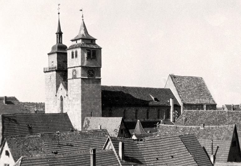 Bartholomäuskirche von Süd
