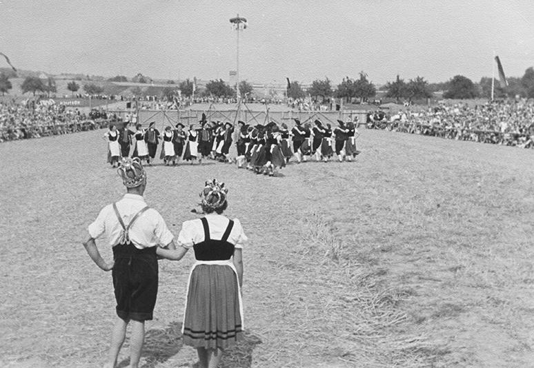 Huldigung 1954