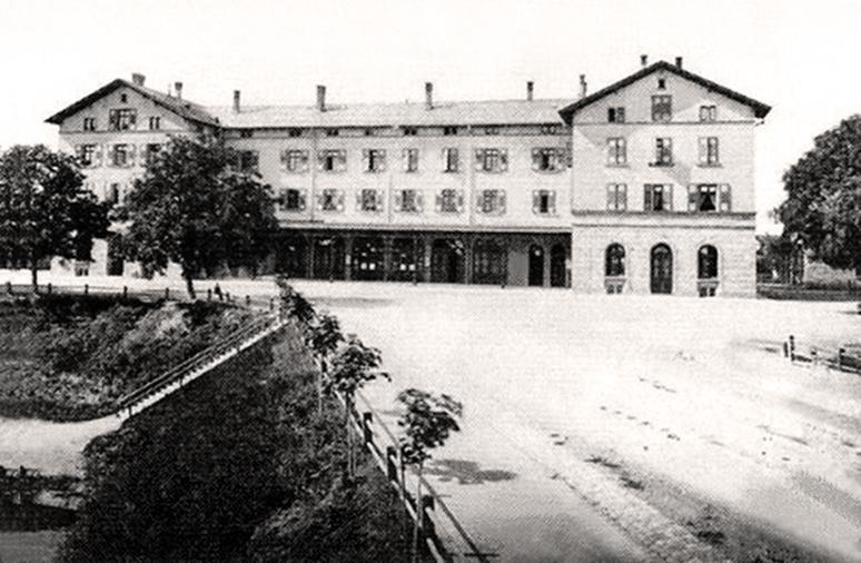 Bahnhof Ludwigsburg 1860er