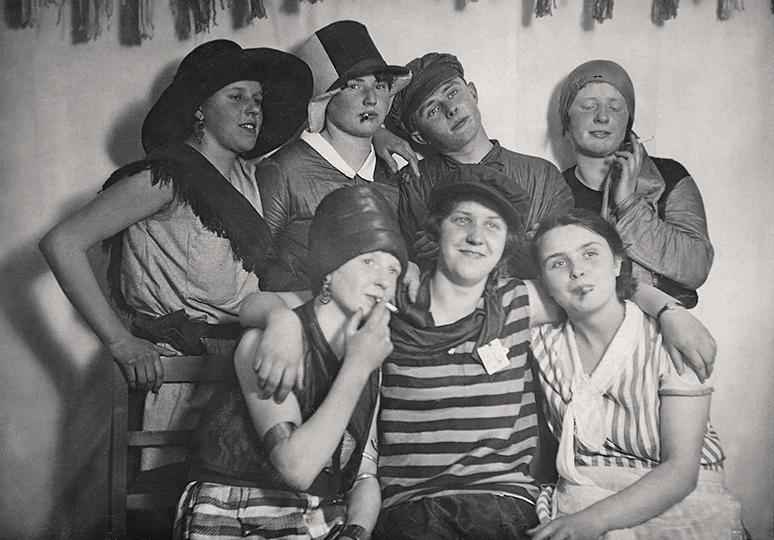 Fasnet um 1930