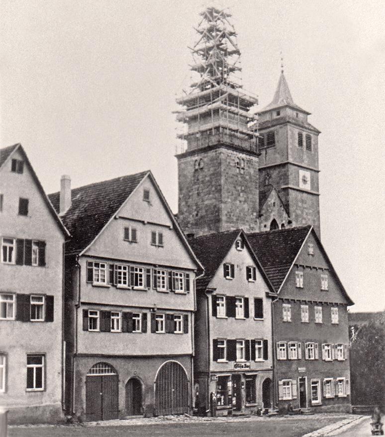 Marktplatz um 1931