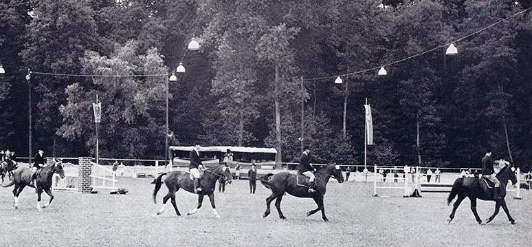 Reitturnier um 1968
