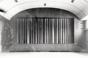 Stadthalle Bühne