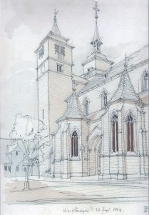 Bartholomäuskirche 1864