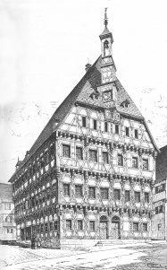 Rathaus 1889