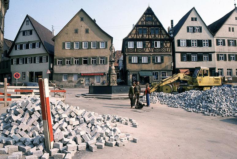 Marktplatz-Pflaster