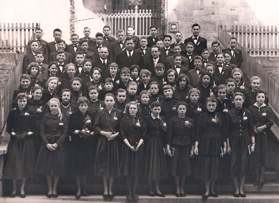 Konfirmanden 1956