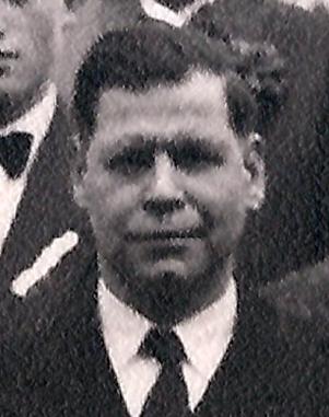 Ev. Pfarrer Kumpf 1956
