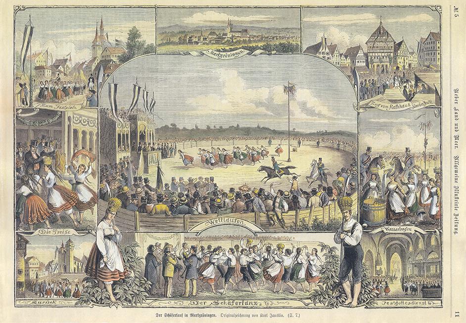 Schäferlauf 1872