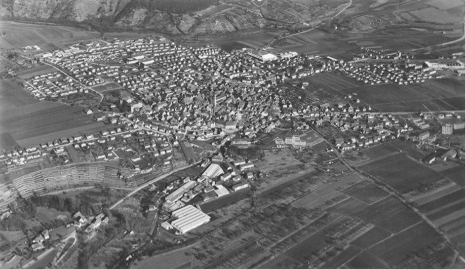 Luftbild um 1968