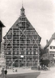 Rathaus-Renovierung