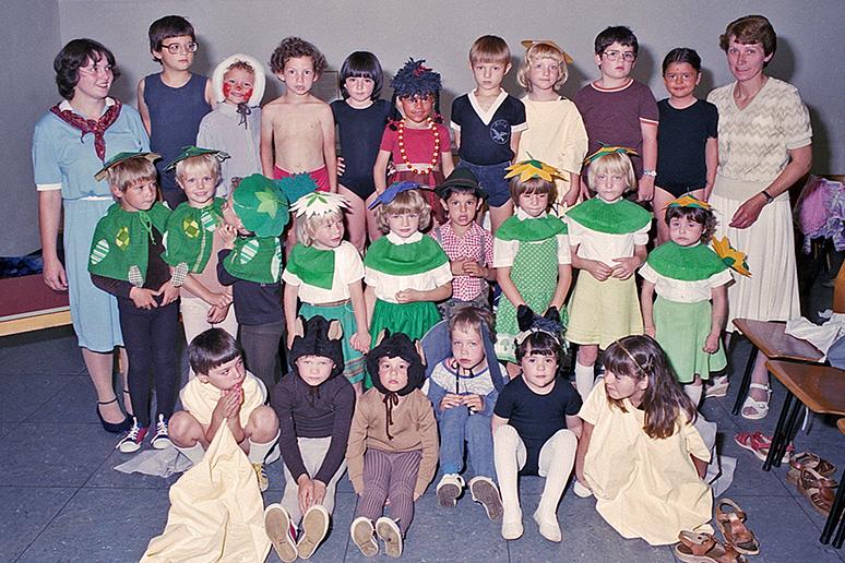 Kindergarten 1982