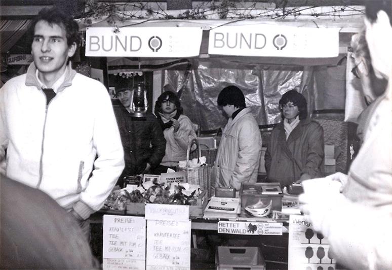 BUND-Stand